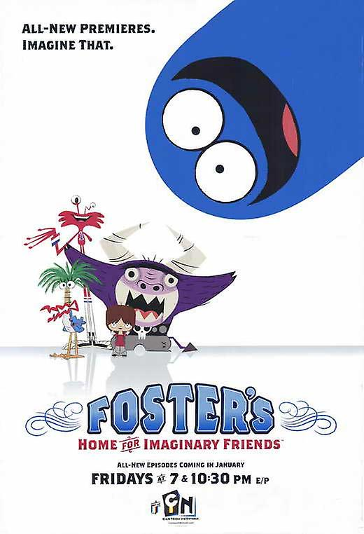 Fosters Home for Imaginary Friends Movie Poster (11 x 17)