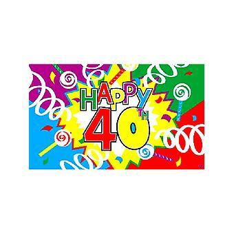 Feliz 40 aniversario de la bandera
