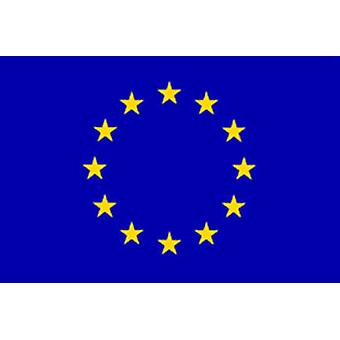 EU Flag 5ft x 3ft With Eyelets For Hanging