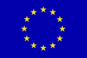EU flagget 5 ft x 3 ft med hull For hengende