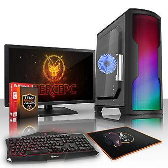 PC Gaming esilio feroce, veloce processore AMD Athlon 4 950 3,8 GHz, HDD da 1 TB, 8GB RAM, GTX 1050 2 GB