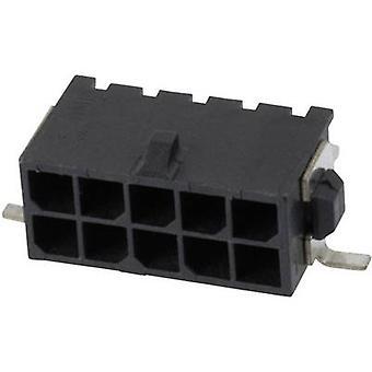 TE tilkobling Pin strip (standard) mikro-KOMPIS-N-LOK totalt antall pinner 10 kontakt avstand: 3 mm 4-794627-0 1 eller flere PCer