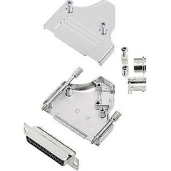 encitech MHDM35-25-DBS-K D-SUB receptacle set 180 ° Number of pins: 25 Solder bucket 1 Set