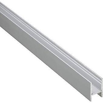 U-section rail Aluminium