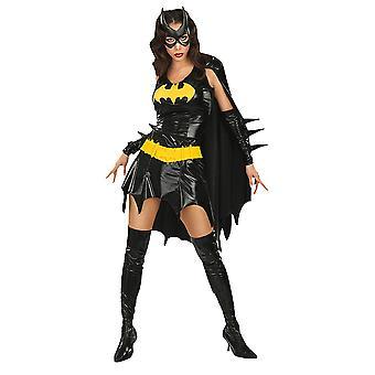 Batgirl kostuum mini jurk oorspronkelijke voor vrouwen