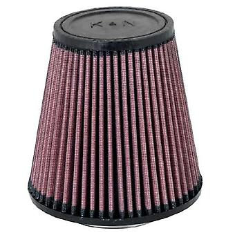 K & N RU-5168 Universal Clamp-On Air Filter: Runde tilspidsede; 3.375 i (86 mm) Flange ID; 6 i (152 mm) højde; 5.813 in (14