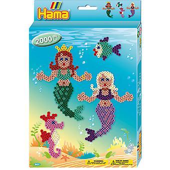 Bügeln von Hama Perlen Mermaid 2000 Stück