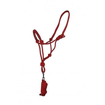QHP Ramal halter rope with Fiery Red Cob