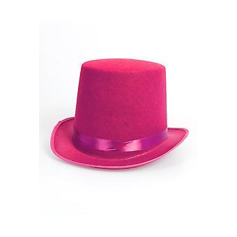 Różowy kapelusz kapelusze