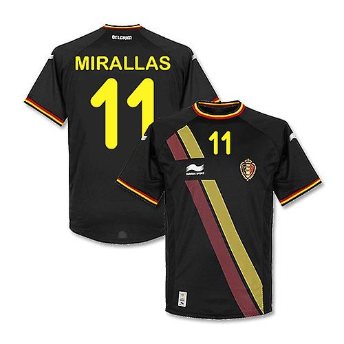 2014-15 Belgium World Cup Away Shirt (Mirallas 11) - Kids