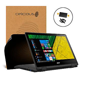 Celicious Privacy 2-Way Anti-Spy Filter Screen Protector Film Compatible with Acer Spin 5 SP513-51