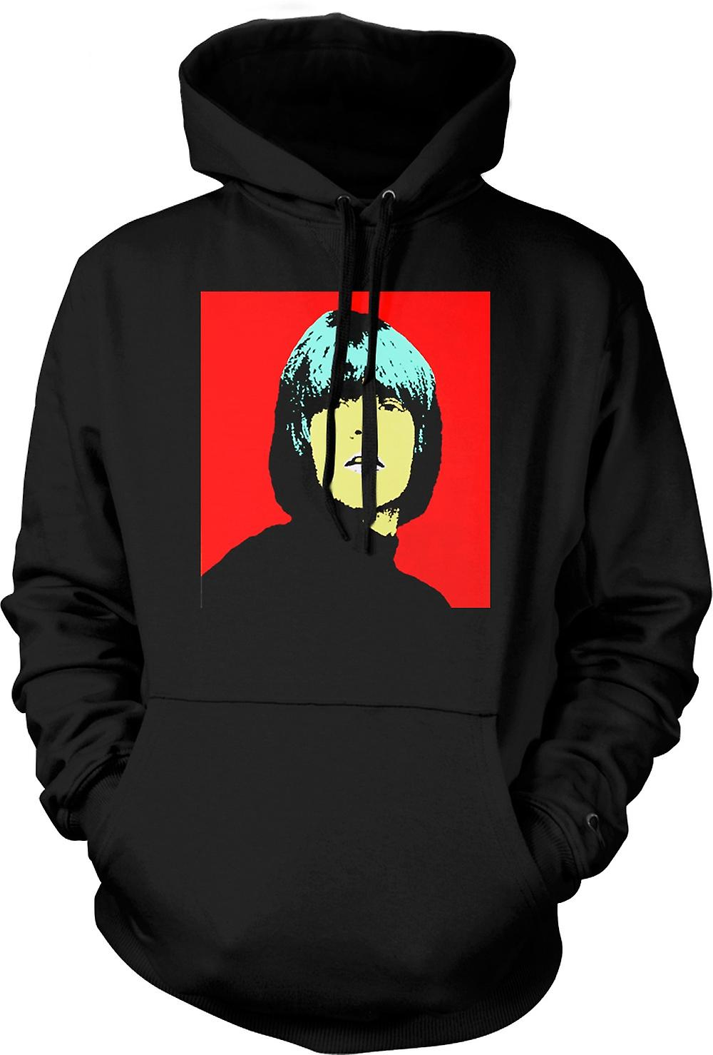Mens Hoodie - Rolling Stones Brian Jones - Pop Art