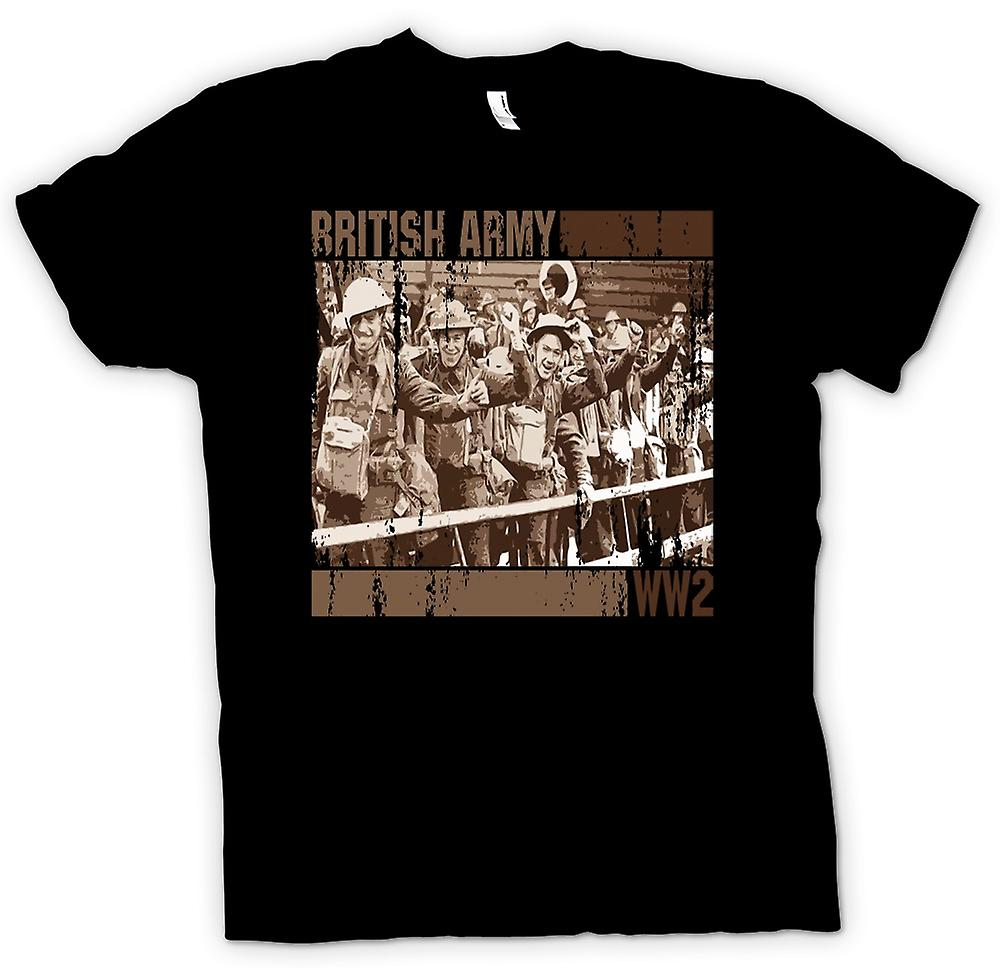 T-shirt-esercito britannico World War 2