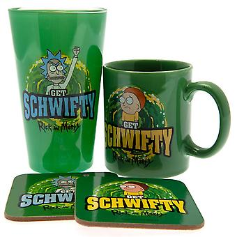 Rick And Morty Schwifty Gift Set