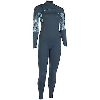 Ion Dark Blue Trinity Core Semidry 5mm Womens Long Sleeved Wetsuit