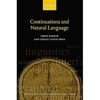 Continuations and Natural Language by Chris Barker - Chung-chieh Shan