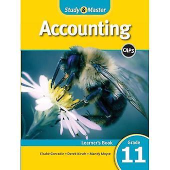 TAMPAS de contabilidade: Estudo & Master contabilidade Learner livro livro grau grau 11 Learner 11
