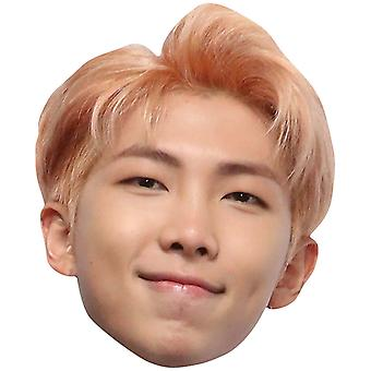 RM from BTS Bangtan Boys 2D Card Party Face Mask