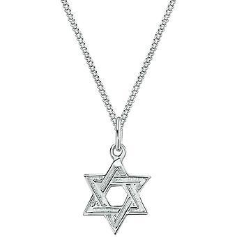 Bella Star of David Pendant - Silver