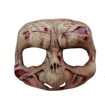 Latex Halbmaske Zombie für Halloween