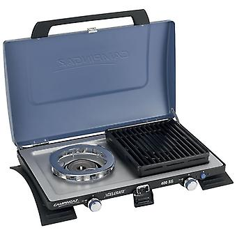 Campingaz 400 Series SG Double Burner and Grill Blue