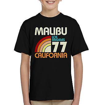 Malibu Retro 77 Kid's T-Shirt