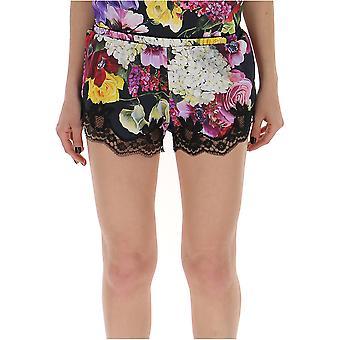 Dolce E Gabbana Multicolor silke Shorts