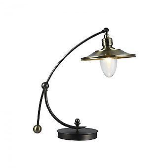 Maytoni belysning Senna huset bordslampa, brons