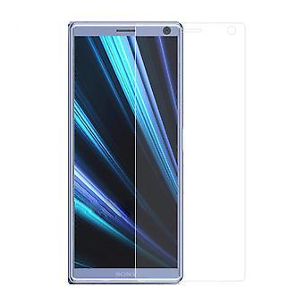 Sony Xperia 10 blindé protection écran verre réservoir diapositive 9 H verre - 10 pièces