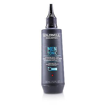 Goldwell dobbelt sanser menn tonic aktivere hodebunnen tonic (for alle hårtyper)-150ml/5oz