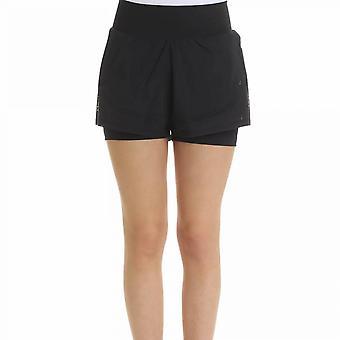 Adidas By Stella Mccartney Black Cotton Shorts