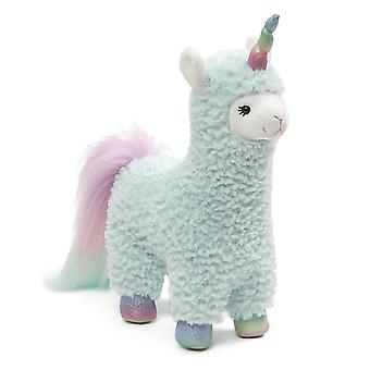 Gund Llamacorn Cotton Candy Turquoise 28cm