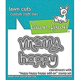 Lawn Fawn Happy Happy Happy Add-on Dies (LF1479)