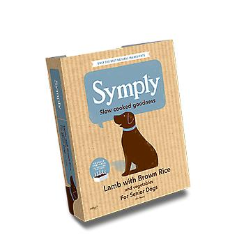 Symply Lamb With Brown Rice For Senior Dogs 395G Wet Trays Single Pack