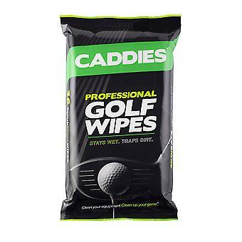 Caddies professionele golf gripes grip reiniging doekjes Pack van 36