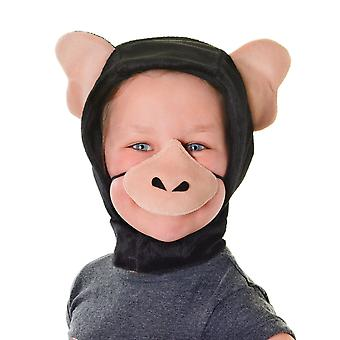 Bristol Novelty Childrens/Kids Chimpanzee Hood And Nose
