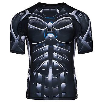 Extreme hobby-Cyber Knight-Rashguard korte mouw top