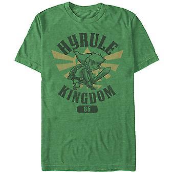 Nintendo Legend of Zelda Held Akademie Green T-Shirt