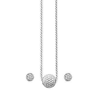 THOMAS SABO Silver Women's Pendant Necklace - SET0234-051-14-L45