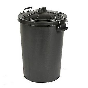Saddlers Heavy Duty Dustbin and Metal Clip Lid