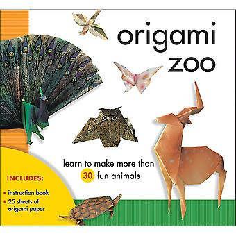 Sterling Publishing Origami Zoo Kit Stp 79614