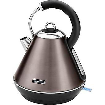 Kettle cordless Clatronic Champagne