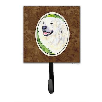 Great Pyrenees Leash Holder or Key Hook