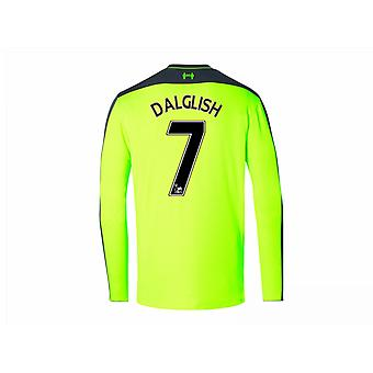 2016-17 Liverpool Third Long Sleeve Shirt (Dalglish 7) - Kids