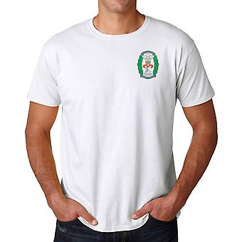 The South Lancashire Regiment Embroidered Logo - Official British Army Ringspun T Shirt