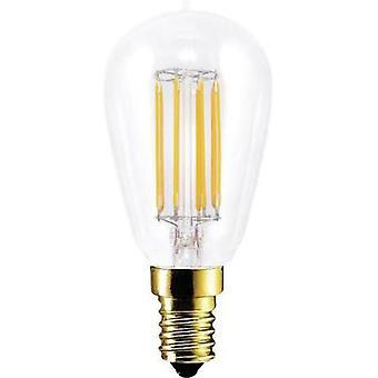 LED (monochrome) Segula 230 V E14 4.7 W = 35 W Warm white EEC: A+ Rod (Ø x L) 45 mm x 100 mm Filament, dimmable 1 pc(s)