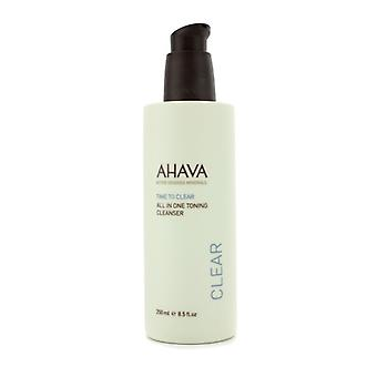 AHAVA tid til at klare alt i én Toning sæbe 250ml / 8,5 ounce