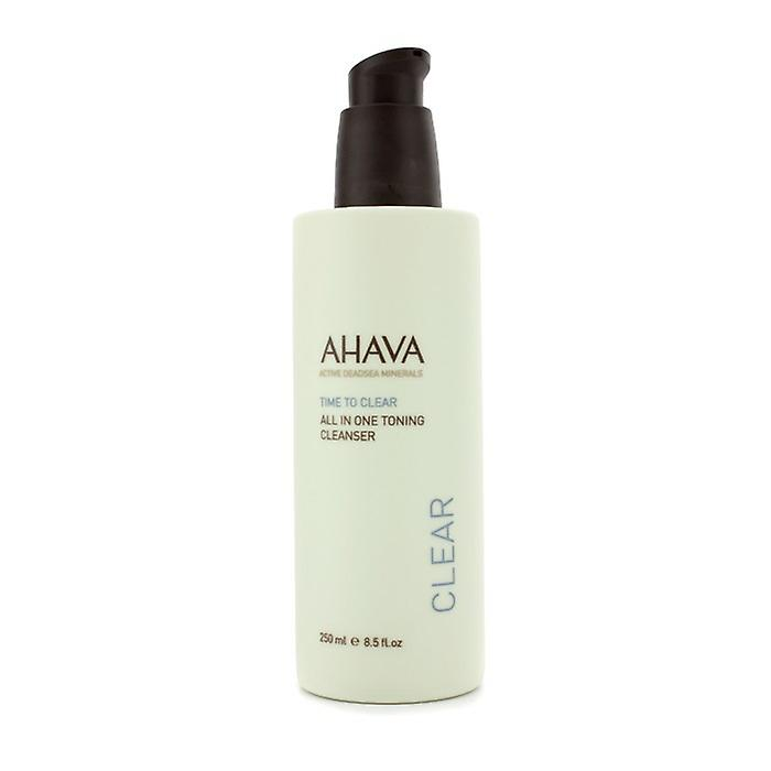 Ahava Time To Clear Exfoliante Limpiador 250ml / 8.5oz