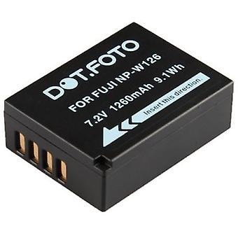 Dot.Foto Fujifilm NP-W126 Replacement Battery - 7.2v / 1260mAh