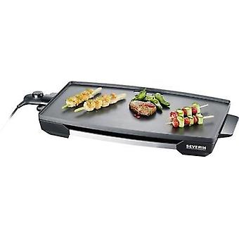 Electric grill Severin KG 2397 with manual temperature settings Stainless steel (brushed), Black